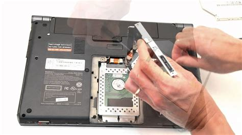 Hardisk Vaio add a 2nd hdd or ssd to sony vaio s series laptop