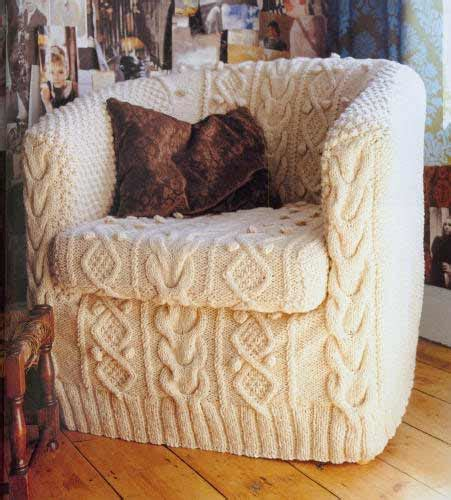 how to make an armchair slipcover knitted slipcover hot or not freshome com