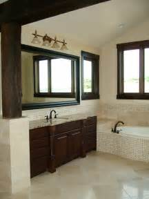Dark Vanity Bathroom Ideas by Cream Bathroom Color Theme And Traditional Decorating