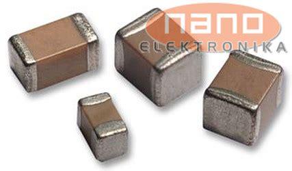 kemet capacitor smd 0 1uf 50v 0603 smd kemet nano elektronika d o o