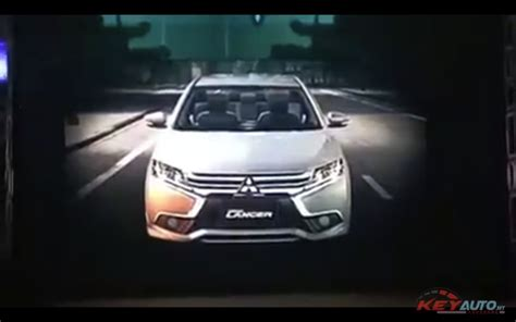mitsubishi grand lancer 2017 mitsubishi grand lancer front second leaked image