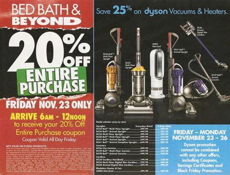 bed bath and beyond black friday deals bed bath beyond black friday 2012 deals ad scan
