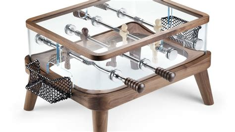 compact foosball coffee table a great alternative to