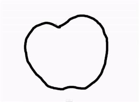 imagenes para colorear una manzana dibujos de manzanas para colorear e imprimir paso a paso