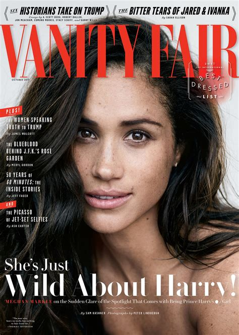 vanit fair cover story meghan markle about harry vanity fair