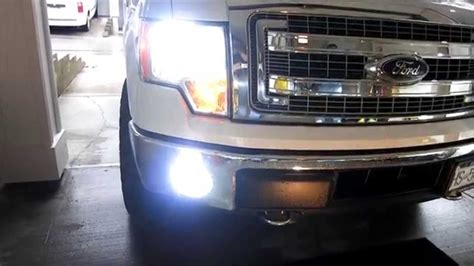 2012 ford f150 lights how to install hid fog lights h10 ford f150 2014