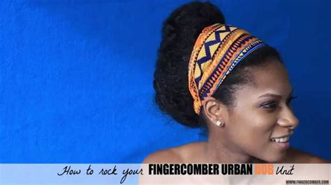 finger comber urban bob how to use urban bob by finger comber how to rock your