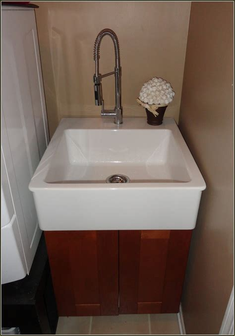 Laundry tub cabinet home depot home design ideas