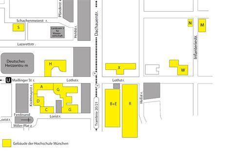 Bewerbung Hochschule Munchen Geb 228 Udeplan