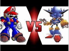 Mecha Mario Vs. Mecha Sonic I Sonicsweden1 fights #1 - YouTube Mecha Mario Vs Metal Sonic