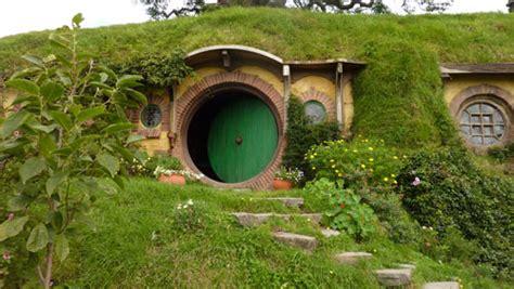 the magic of a hobbit house surreal estate habitable hobbit holes inside the magic