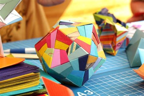 Modular Origami Folding - 50 best images about origami sonobe on origami