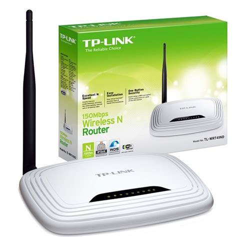 Router Tp Link 1 Antena Tp Link Wireless N Router 150mbps With Detachable Antenna