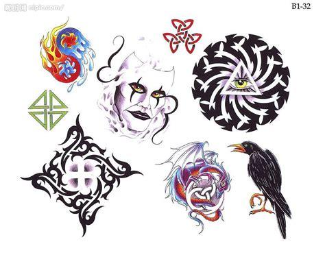 歐美刺青紋身圖设计图 图片素材 其他 设计图库 昵图网nipic com
