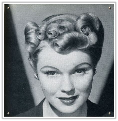 diy 1940s hairstyles for men 1940s hairstyles how to 1940 s victory rolls vintage hairstyles pincurls 1930s
