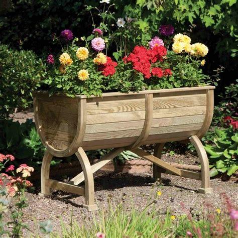 Garden Barrel Planter by Rowlinson Marberry Barrel Planter Garden
