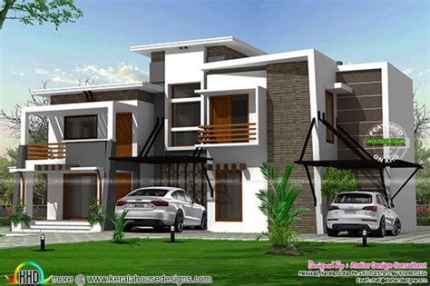 2925 square feet flat roof home kerala home design and flat roof modern residence kerala home design bloglovin