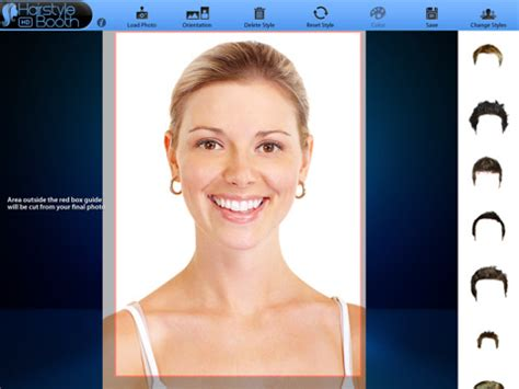 haircut styleing booth hairstyle booth hd app for ipad iphone lifestyle