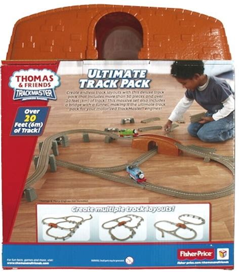 Friends Adventure Series Straights Track Pack image trackmaster fisher price ultimatetrackpackboxback jpg and friends trackmaster wiki
