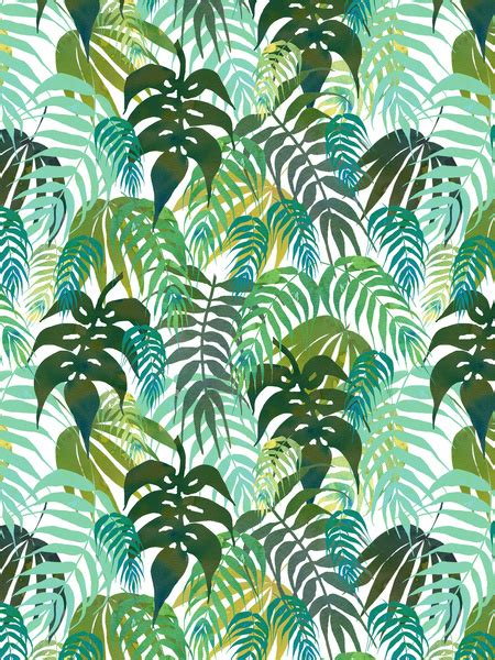 jungle wallpaper pattern lost in the jungle canvas print by schatzi brown society6