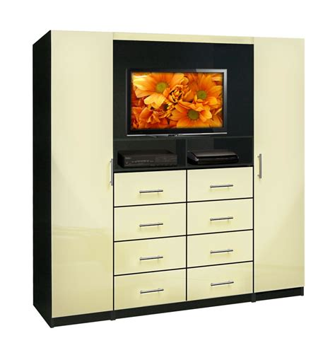 Chest Of Drawers For Tv by Aventa Tv Chest Chest With Tv Space 8 Drawers Wardrobe