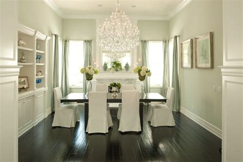 green wall paint cottage dining room valspar