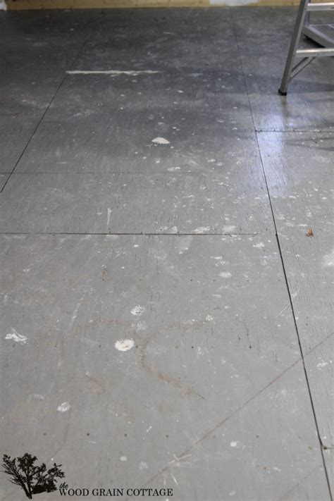 Plywood Floor Paint by How To Paint Plywood Floors The Wood Grain Cottage