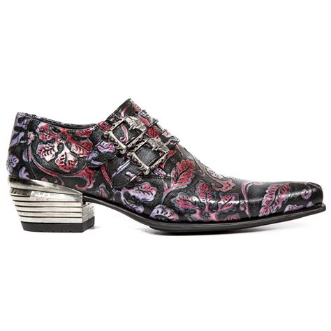 blue patterned shoes vintage red white n blue floral shoes