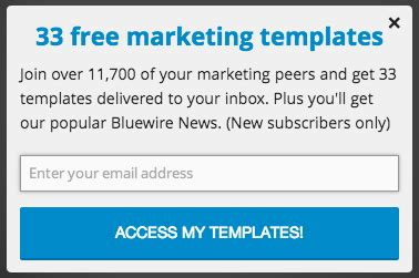 Free Tool To Grow Your Email List Bluewire Media Instagram Collaboration Email Template