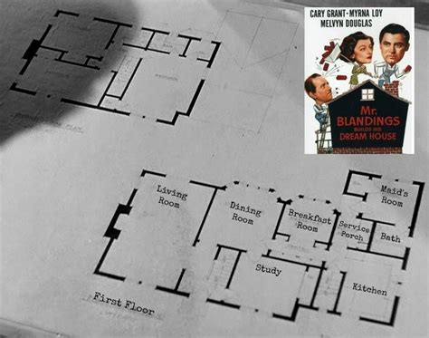 mr blandings dream house floor plans quot mr blandings builds his dream house quot replica for sale in