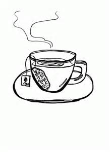 tea coloring pages cups coloring pages for free