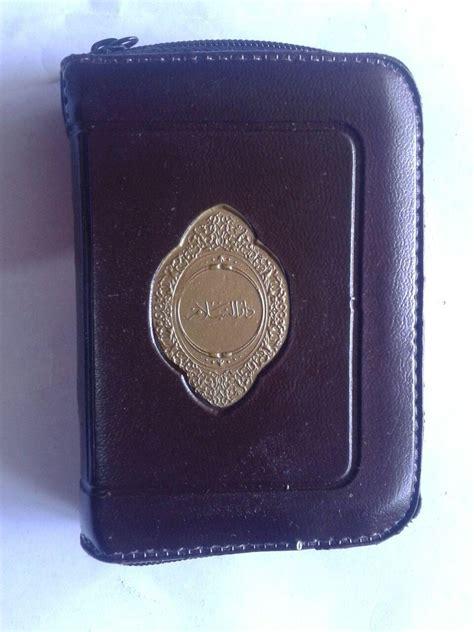 Al Quranku Terjemah Saku al qur an saku impor tanpa terjemah resleting ukuran a7