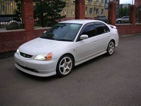 2002 Honda Civic 2002 Honda Civic Ferio Pictures 1800cc Gasoline Ff