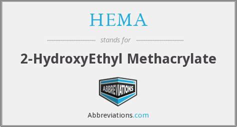 2 Hydro Ethyl Methacrylate Mba by Hema 2 Hydroxyethyl Methacrylate