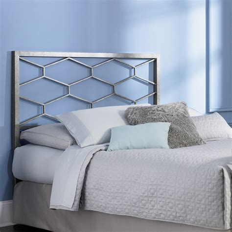 bed headboards metal camden golden frost iron metal bed in cal king size with