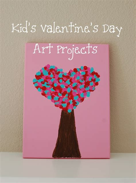 valentines projects for toddlers pinkie for pink kid s s day projects