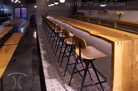 custom made bar tops custom solid hardwood table tops dining and restaurant