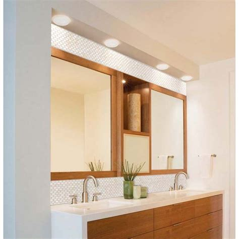 tiled bathroom mirrors mother of pearl tile bathroom mirror wall backsplash