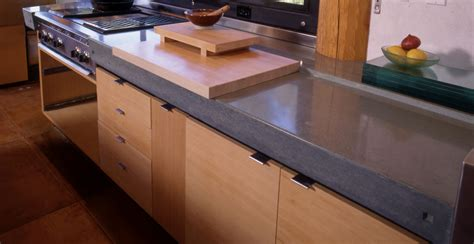 Kitchen Island Granite Top rock wood glass and concrete innovative options for