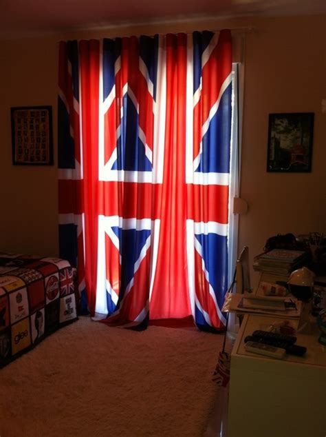 union jack curtains uk uk uk girls lovers of all british things photo