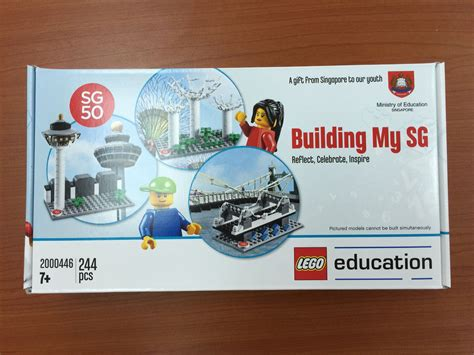 Lego Sg 50 By Deneilshop moe produced sg50 lego sets to give out to