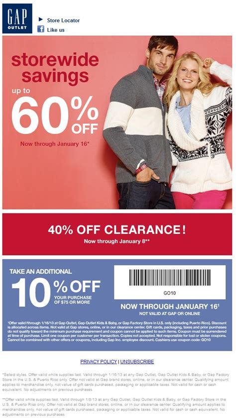gap outlet printable coupon december 2015 168 best exclusive coupon code vip membership 70 images on