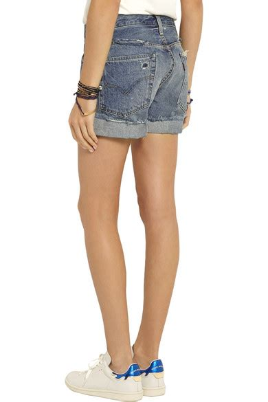 Are Levis Back In Fashion Again by Levi S Vintage Clothing Distressed Denim Shorts Net A