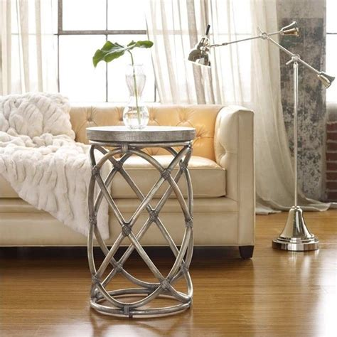 rattan accent tables hooker furniture melange rattan accent table 638 50100