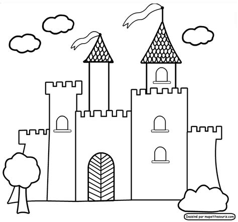 castle coloring pages pdf my castle colouring pages page 2 coloring home