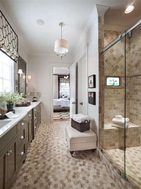 master bathrooms ideas master bathroom from hgtv smart home 2014 hgtv smart