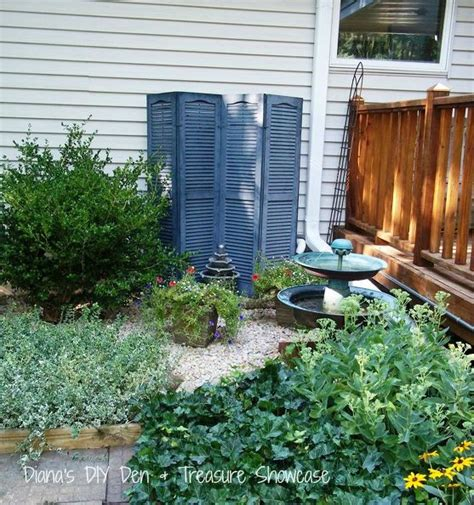 Landscape Ideas To Hide Electrical Box Remodelaholic 13 Ways To Hide Outdoor Eyesores