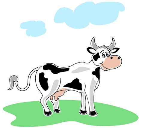 clipart mucca illustration of cow free vector free vectors