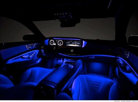 mercedes interior lights mercedes s class closest thing yet to a self driving car