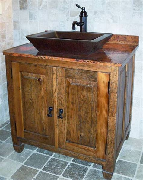 Rustic Style Bathroom Vanities Rustic Bathroom Vanity 25 Best Rustic Bathroom Vanities Ideas Pinterest Barn Barns